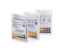 pH-indicator strips pH 6.5 - 10.0 non-bleeding pH 6.5 - 6.8 - 7.1 - 7.4 - 7.7 - 7.9 - 8.1 - 8.3 - 8.5 - 8.7 - 9.0 - 9.5 - 10.0 MQuant® Merck