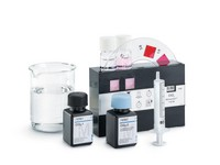 Chlorine Test (free chlorine) Method: colorimetric, DPD, with color-disk comparator 0.25 - 0.50 - 0.75 - 1 - 2 - 4 - 8 - 10 - 15 mg/l Cl₂ MColortest™ Merck