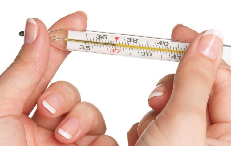 Nhiệt kế thủy ngân đo nhiệt độ cơ thể