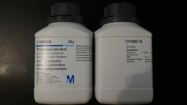 Polyvinyl alcohol protective colloid for argentometric titration 100g Merck