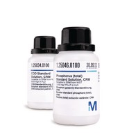 Ammonium Standard Solution, CRM traceable to SRM from NIST 0.400 mg/l NH₄-N in H₂O 100ml Merck