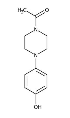 1-Acetyl-4-(4-hydroxyphenyl)piperazine, 98% 50g Acros