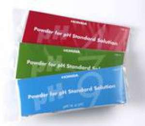 Chất chuẩn pH4 dạng bột 150-4, 10 gói/bộ Horiba