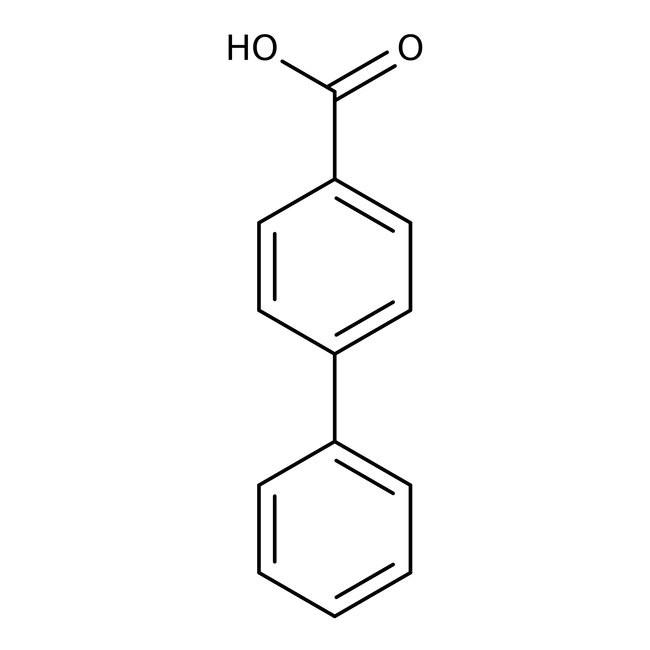 4-Biphenylcarboxylic acid, 99% 25 g Acros