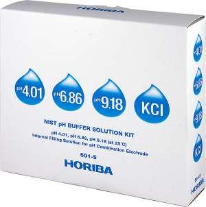 Bộ dung dịch chuẩn pH 501-S Horiba
