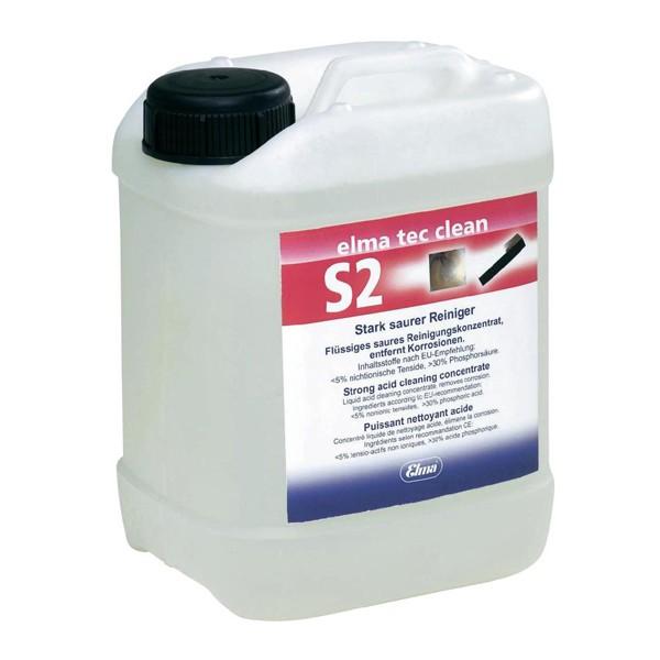 Dung dịch làm sạch công nghiệp Elma tec clean S2, 2.5 lít