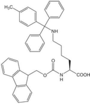 Fmoc-Lys(Mtt)-OH 25g Novabiochem® Merck Đức