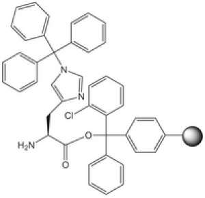 H-His(Trt)-2-ClTrt resin 5g Merck