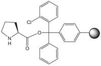 H-Pro-2-ClTrt resin Novabiochem® 5g Merck