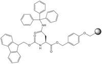 Fmoc-Asn(Trt)-Wang resin LL (100-200 mesh) Novabiochem® 1g Merck
