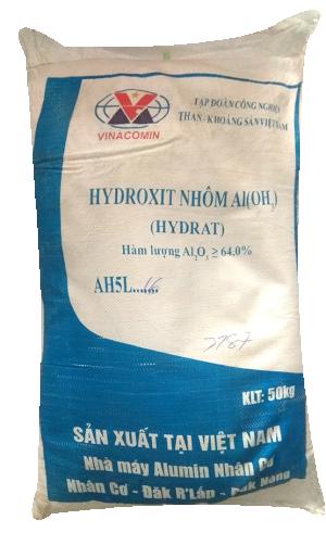 Aluminium hydroxide Al(OH)3 64%, Việt Nam, 50kg/bao