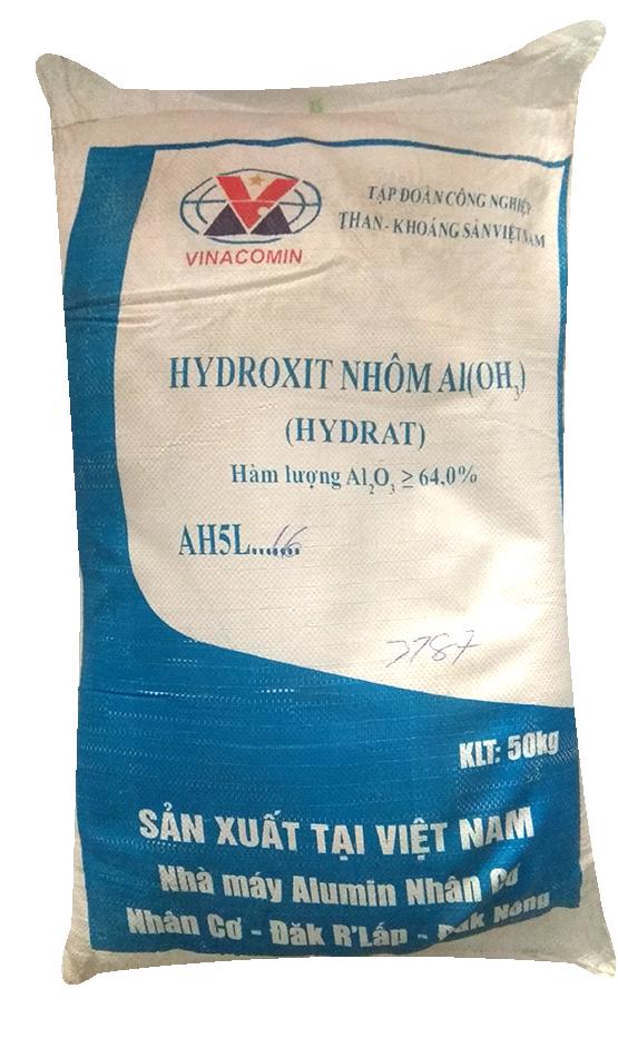 Aluminium Hydroxide Al(OH)3 64%, CN, VN, 50kg/bao