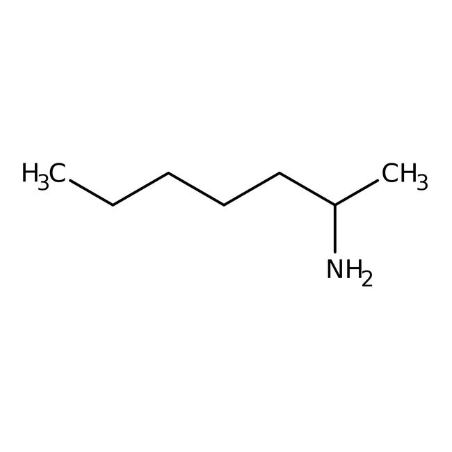 2-Heptylamine, 98+% 100ml Acros