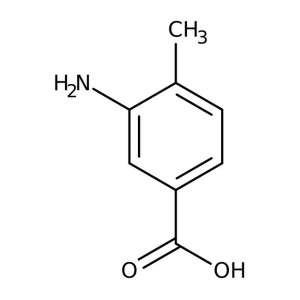 3-Amino-4-methylbenzoic acid, 99% 5g Acros