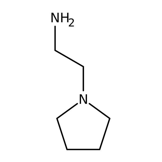 N-(2-Aminoethyl)pyrrolidine, 99% 25ml Acros