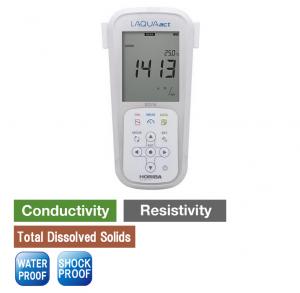 Máy đo độ dẫn / điện trở / tổng hàm lượng chất rắn hòa tan (TDS) cầm tay EC110 Horiba