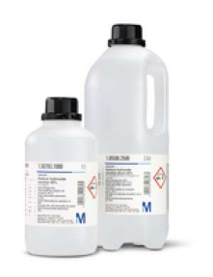Ammonia solution 25% for analysis EMSURE® ISO,Reag. Ph Eur 2,5 lit Merck