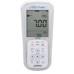 Máy đo pH/ ORP/ Độ dẫn/ Điện trở/ Độ muối/ TDS cầm tay PC110 Horiba