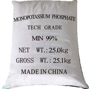 Potassium dihydrogen phosphate 99% KH2PO4, Trung Quốc, 25kg/bao