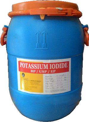 Potassium iodide 99% KI, Ấn Độ, 25kg/thùng