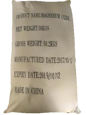 Magnesium Oxide MgO 85%, Trung Quốc, 50kg/bao