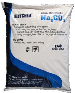 Sodium carbonate Na2CO3 99.2%, Trung Quốc, 25kg/bao