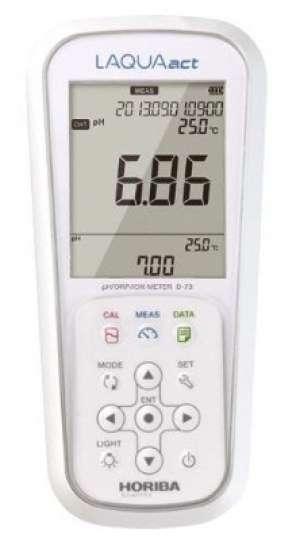 Máy đo độ dẫn/ Điện trở/ Độ mặn/TDS cầm tay ES-71A-S Horiba