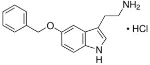 5-Benzyloxytryptamine hydrochloride, 98% 1g Acros