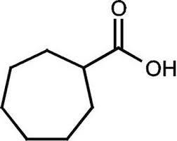 Cycloheptanecarboxylic acid, 97% 5g Acros
