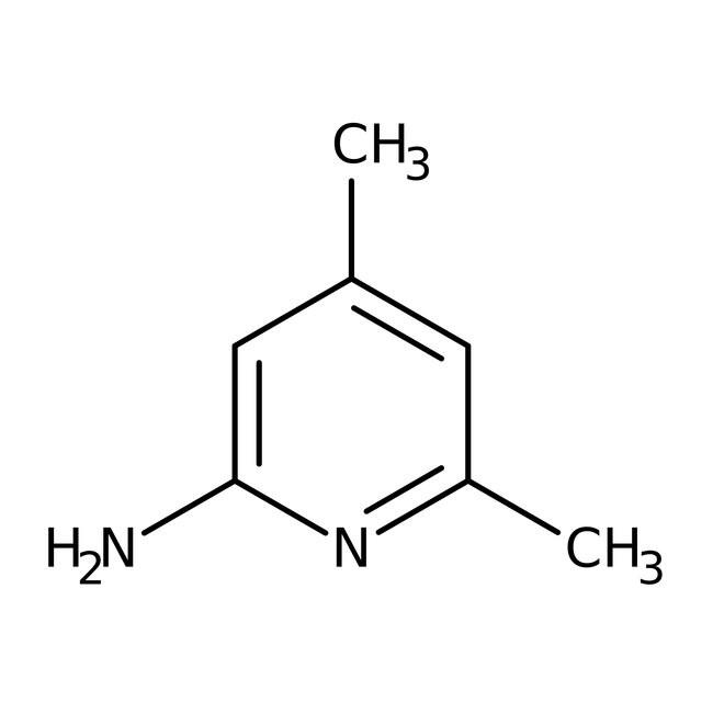 2-Amino-4,6-dimethylpyridine, 99% 5g Acros