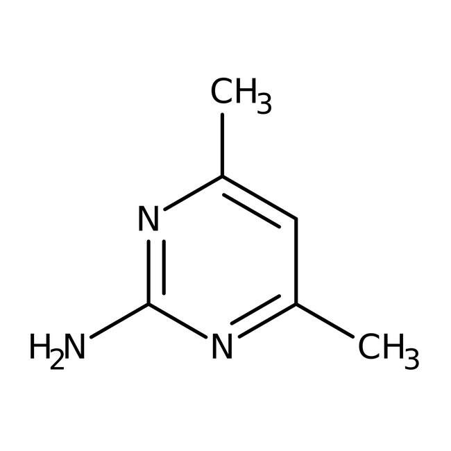 2-Amino-4,6-dimethylpyrimidine, 98% 100g Acros