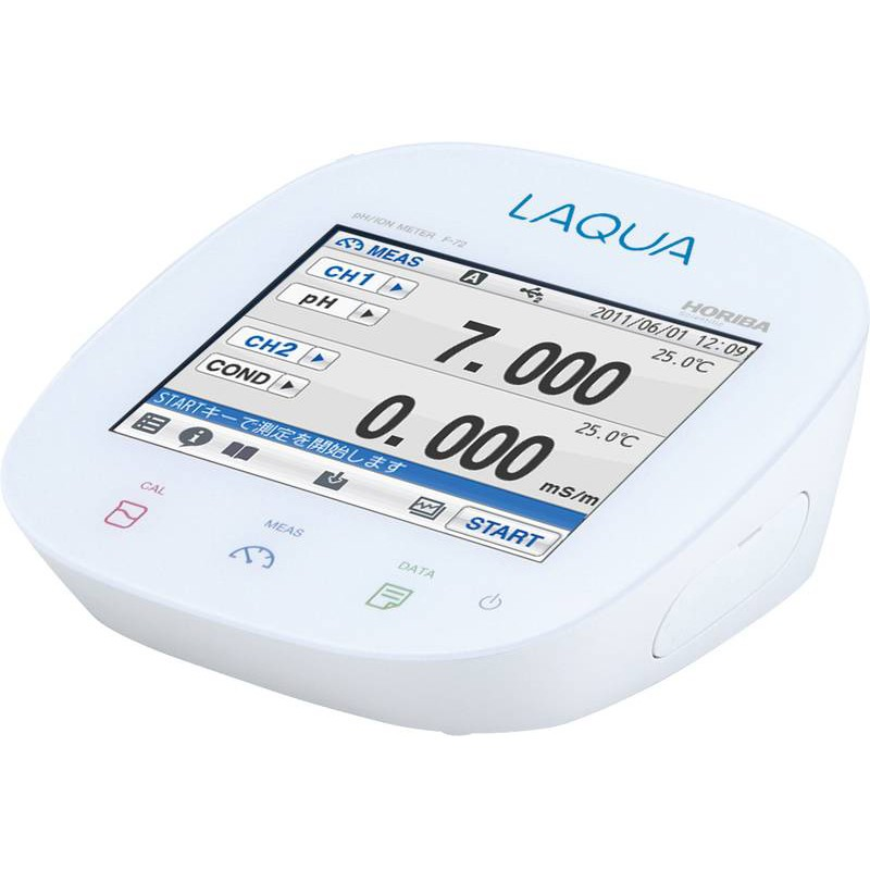 Máy đo pH/ ORP/ Ion/ Nhiệt độ/ Độ mặn/ Độ dẫn/ Điện trở/ TDS để bàn F-74G Horiba