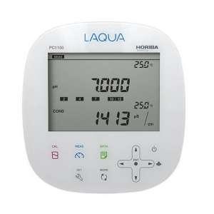 Máy đo pH / ORP / độ dẫn / điện trở / độ mặn / TDS để bàn PC1100 Horiba