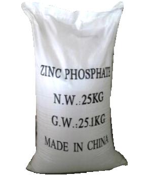 Zinc phosphate Zn3(PO4)2.12H2O 98%, Trung Quốc, 25kg/bao