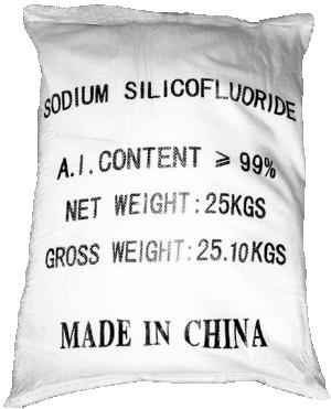 Sodium silicofluoride Na2SiF6 99%, Trung Quốc, 25kg/bao