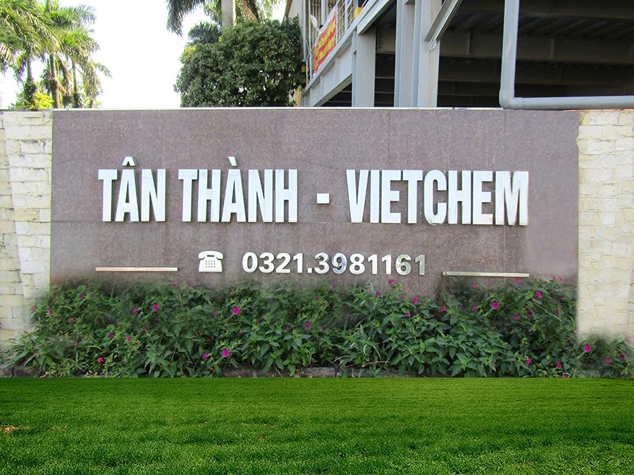 Hãy đến với TÂN THÀNH-VIETCHEM địa chỉ uy tín, chuyên nghiệp