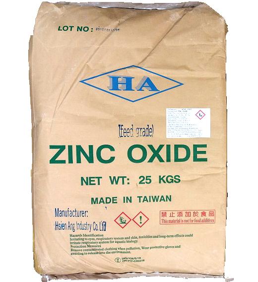 Zinc oxide ZnO 99%, Đài Loan, 25kg/bao