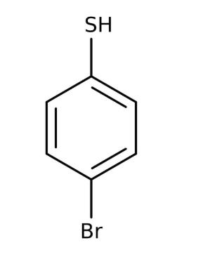 4-Bromothiophenol, 95%, 25g, Acros