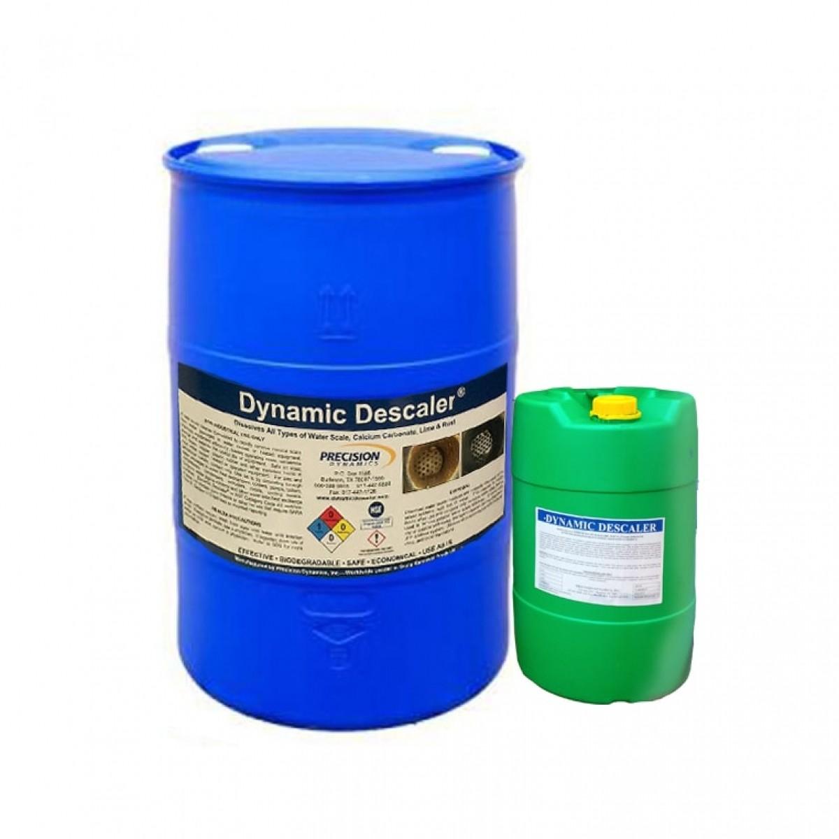 Chất tẩy cáu cặn Dynamic descaler, Mỹ, 25 lít/can