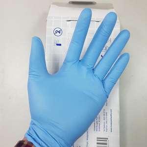 Găng tay sử dụng 1 lần màu xanh size M Honeywell