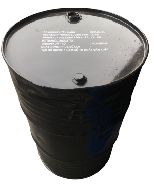 Methanol CH3OH, Indonesia, 163kg/phuy