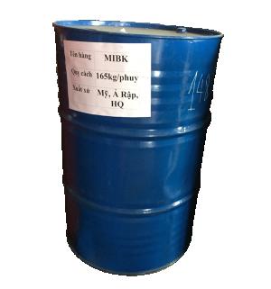 Methyl iso butyl ketone(MIBK), Hàn Quốc, 165kg/phuy