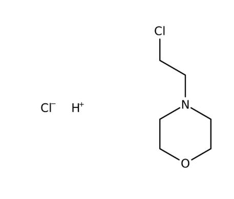 N- (2-Cloroethyl) morpholine hydrochloride, 99%, 100g, Acros