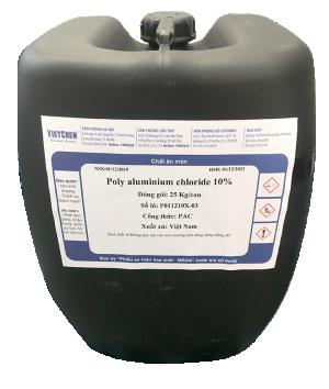 PAC 10% - 17% (Poly aluminium chloride lỏng), Việt Nam