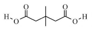3,3-Dimethylglutaric acid, 98% 25g Acros