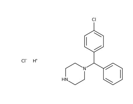 1-(4-Chlorobenzhydryl)piperazine 90-95%, 5g Acros