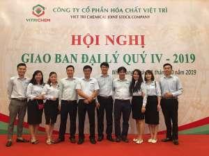 VietChem nhận nhiều giải thưởng lớn tại Hội nghị giao ban đại lý Quý IV
