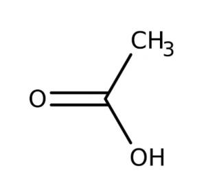 Acetic acid 99.5% pure, 1 lít Acros