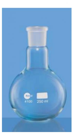 Bình cầu đáy bằng 250 ml Borosil