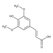 3,5-Dimethoxy-4-hydroxycinnamic acid 98%, predominantly trans isomer 25g Acros